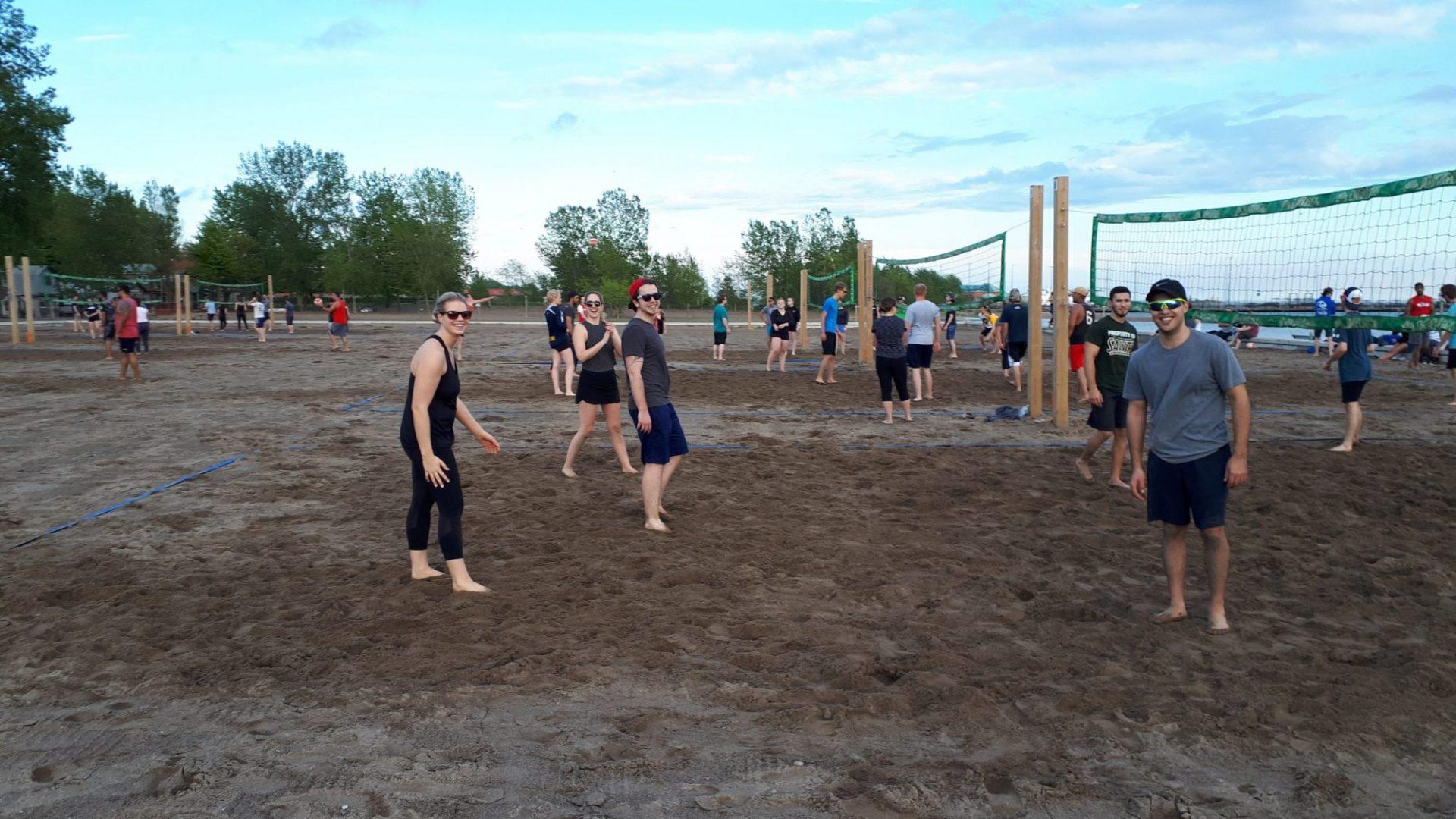THURSDAY NIGHT - Leamington Adult Beach Volleyball League